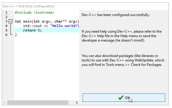 Hướng dẫn cài đặt IDE Dev C++ (lập trình C/C++)