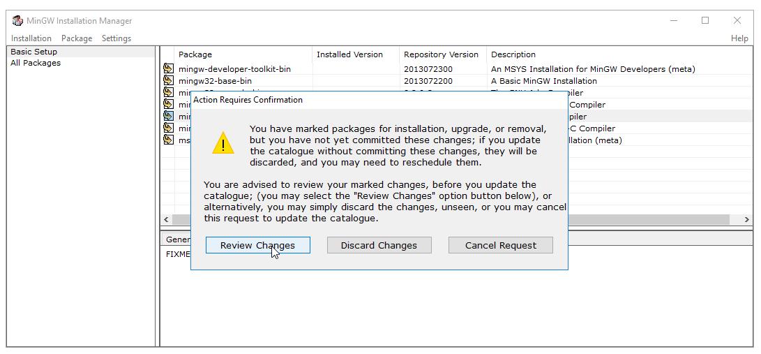 cài đặt c compiler trên windows