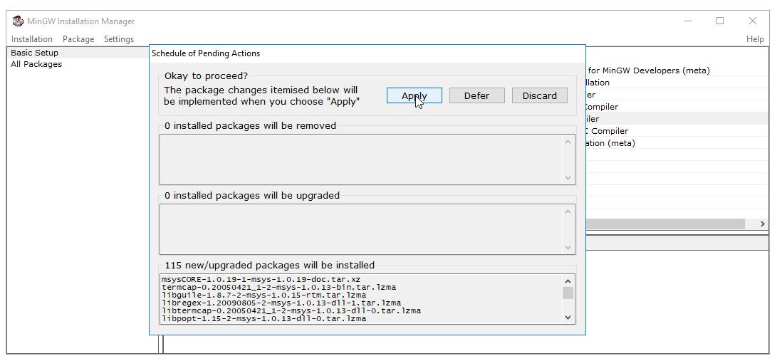Hướng dẫn cài đặt trình biên dịch C/C++ MinGW (gcc)