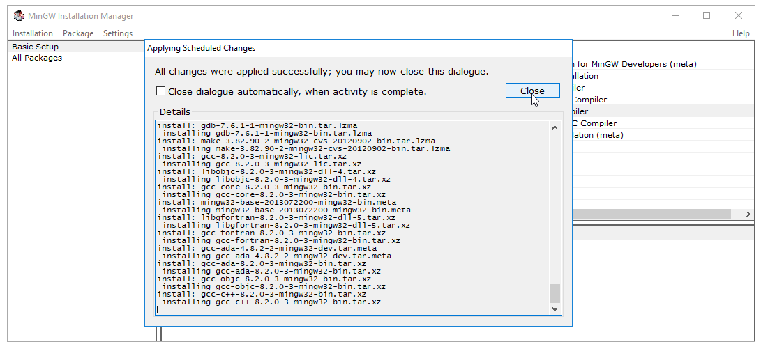 Cài đặt c/c++ compiler trên windows