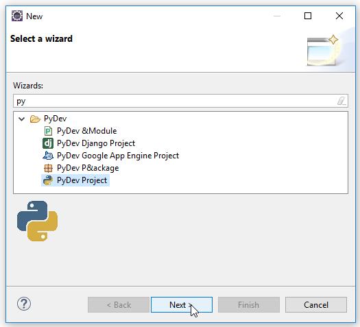 Hướng dẫn lập trình Python trên Eclipse với plugin PyDev