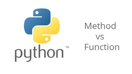 Sự khác nhau giữa Method và Function trong Python