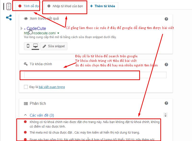 Hướng dẫn đăng bài trên blog codecute.com